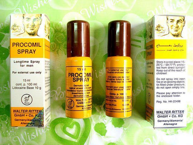 thuốc xịt cường đương Procomil Spray