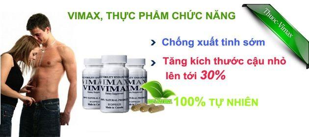 Thuốc tăng kích thước dương vật VIMAX